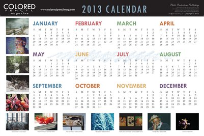 2013 Calendar - Double-Sided 18x12 Poster