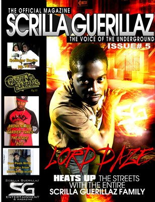 The Scrilla Guerillaz Magazine issue#5