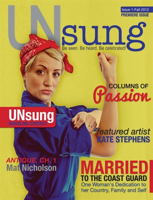 UNsung, DEBUT ISSUE