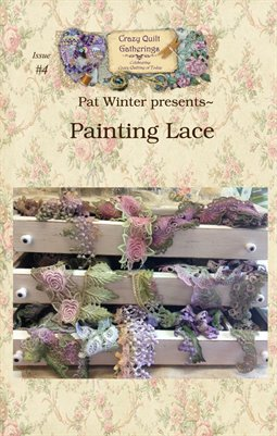 Project Digest #4 Lace Painting