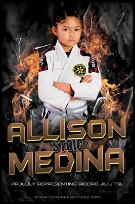 Allison Medina Fire Poster