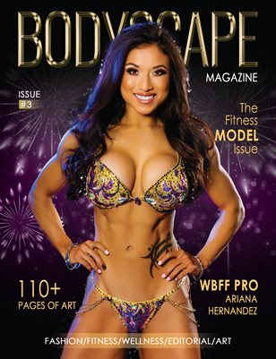 "BodyScape Magazine Issue 3 ""The Fitness Model Issue"""