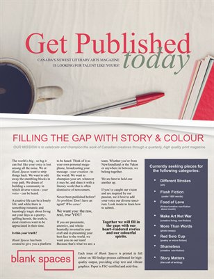 HOW TO Get Published in Blank Spaces