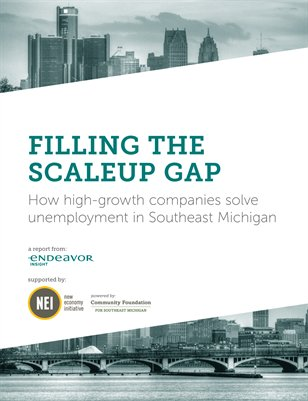 Filling the Scaleup Company Gap in Southeast Michigan