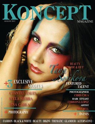 Koncept Magazine August 2013