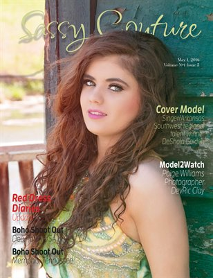 Sassy Couture Volume #1 Issue Five