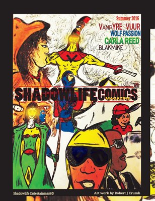 ShadowlifeComics Magazine Summer 2016