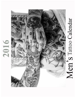 2016 Men's Tattoo Calendar