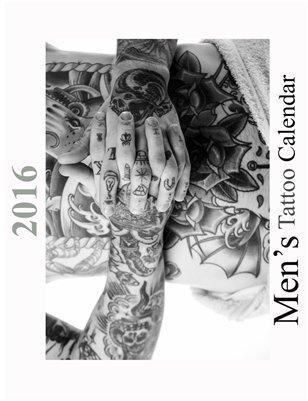 2016 Men's Tattoo Calendar