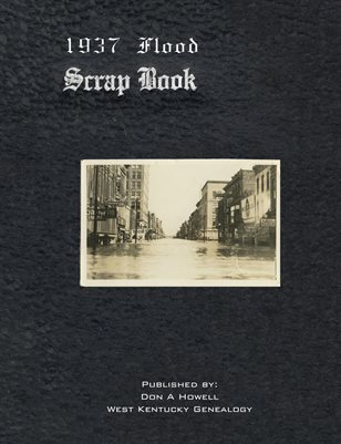 1937 Flood Scrap Book, Paducah, Kentucky