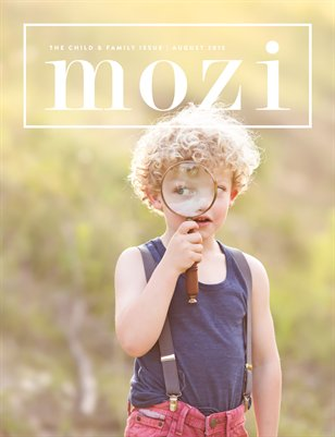 Mozi Magazine, August 2015, Child and Family