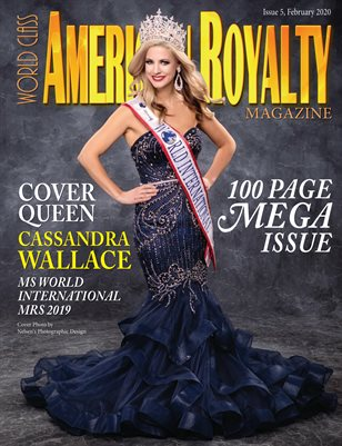 World Class American Royalty Magazine Issue 5 with Cassandra Wallace