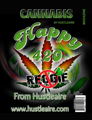 Cannabis Magazine by Hustleaire