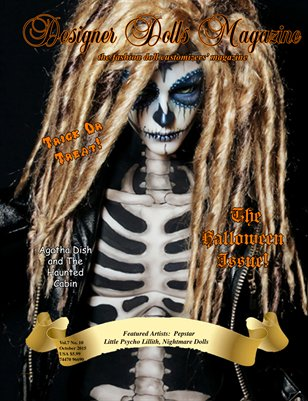 Designer Dolls Magazine - The Halloween Issue