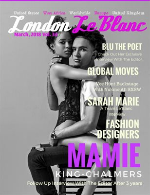 London Le'Blanc Magazine Vol. 34
