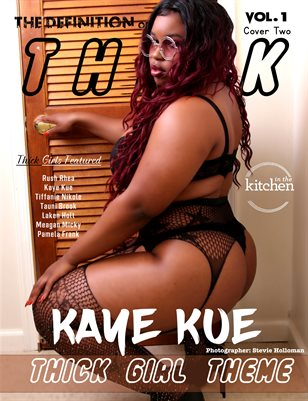 The Definition: Kaye Kue Thick Girls vol 1cover 2