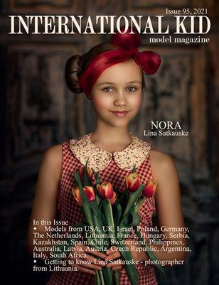 International Kid Model Magazine Issue #95