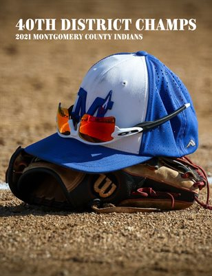 Montgomery County Baseball 2021 40th District Champs