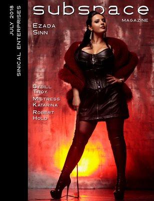 subspace Magazine 07 - Ezada Sinn cover edition