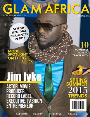 Glam Africa (Spring 2015 - Jim Iyke - Nollywood Actor)