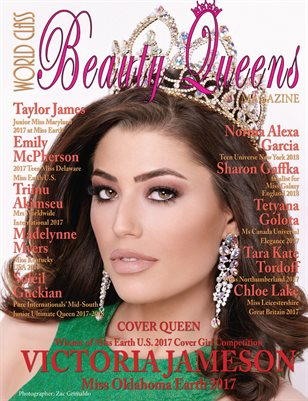 World Class Beauty Queens Magazine with Victoria Jameson