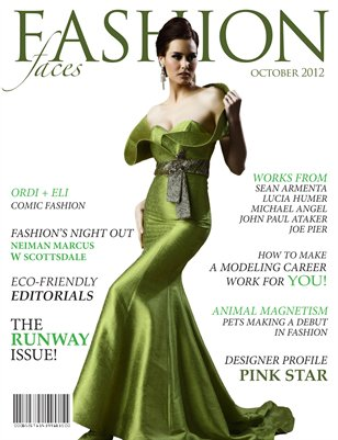 Fashion Faces October Issue 2012
