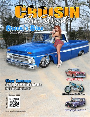 August 2016 Issue Cruisin' the Streets