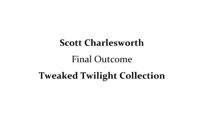 Scott Charlesworth- Tweaked Twilight Collection