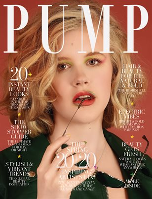 PUMP Magazine | Hair & Makeup Artist Edition | Vol.2 | April 2020