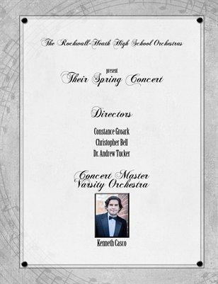 Orchestra Program Spring 2015