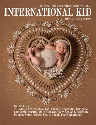 International Kid Model Magazine Issue #93 Babies & Toddlers
