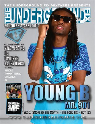The Underground Fix Magazine 'Southern Stars' Edition