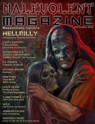 Malevolent Magazine #15 Oct/Nov 2015