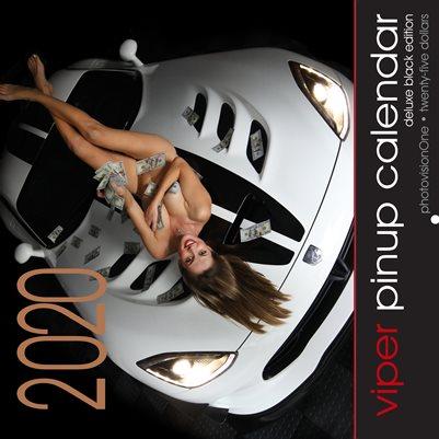 2020 Viper Pinup Calendar - DELUXE Black Edition