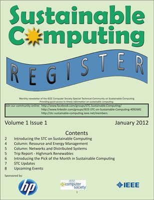 Sustainable Computing Register - January 2012
