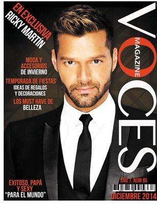 Ricky Martin/Edición Diciembre 2014