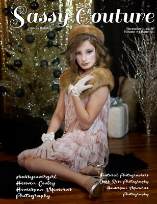 Sassy Couture Magazine Holiday December Issue