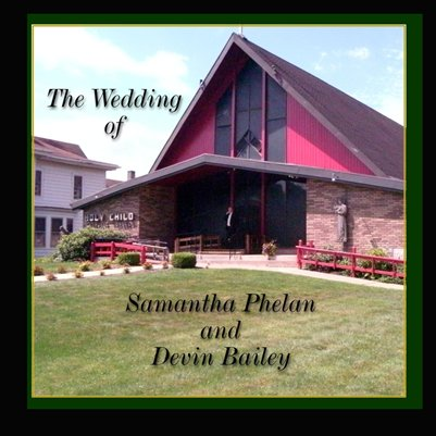 Sam Phelan and Devin Bailey Wedding Booklet