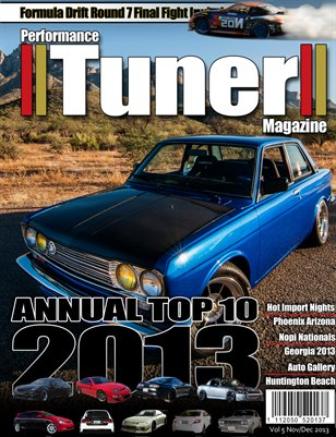 Performance Tuner Magazine Volume 5 November/December 2013