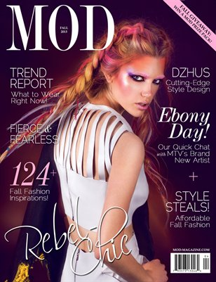 MOD MAGAZINE: Volume 2; Issue 4; Fall 2013 [Cover #2]