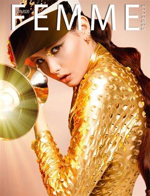 Femme Rebelle Magazine June 2020 -  Natasha Kyrbatova Cover