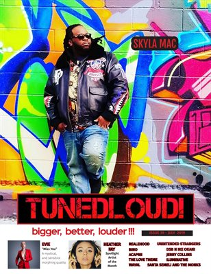 TunedLoud Magazine July 2019