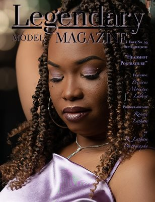 Issue No. 29 - Headshot Portraiture - Legendary Model Magazine