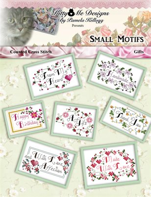 Small Cross Stitch Motifs Gifts