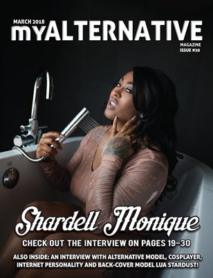 MyAlternative Magazine Issue 20 March 2018