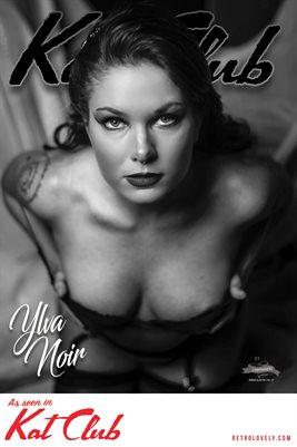 Kat Club No.13 – Ylva Noir Cover Poster