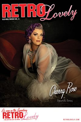 Cherry Rose Cover Poster