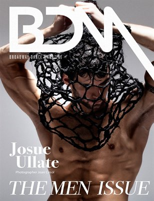 BROADWAY DANCE MAGAZINE. THE MEN ISSUE COVER 3