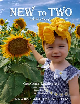 New To Two Model Magazine Issue #122