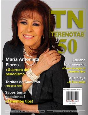 Maria Antonieta Flores... Guerrera de la noticia